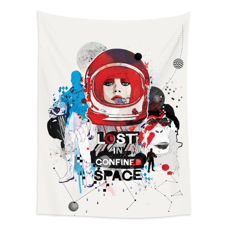 ★壁幔Wall Tapestry★Lost in Confined Space- Raphaël Vicenzi
