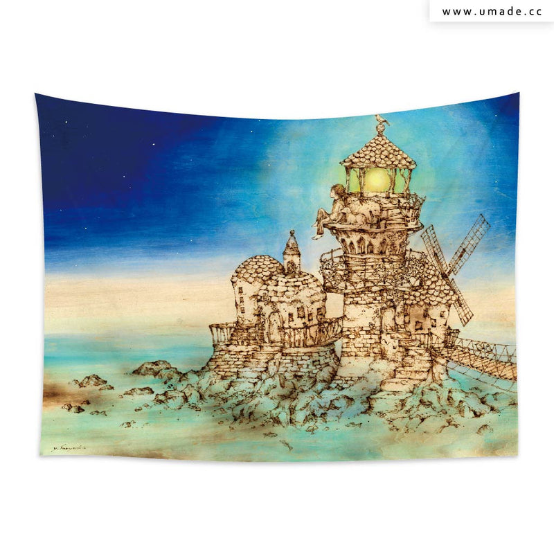 ★壁幔Wall Tapestry★ 燈塔lighthouse