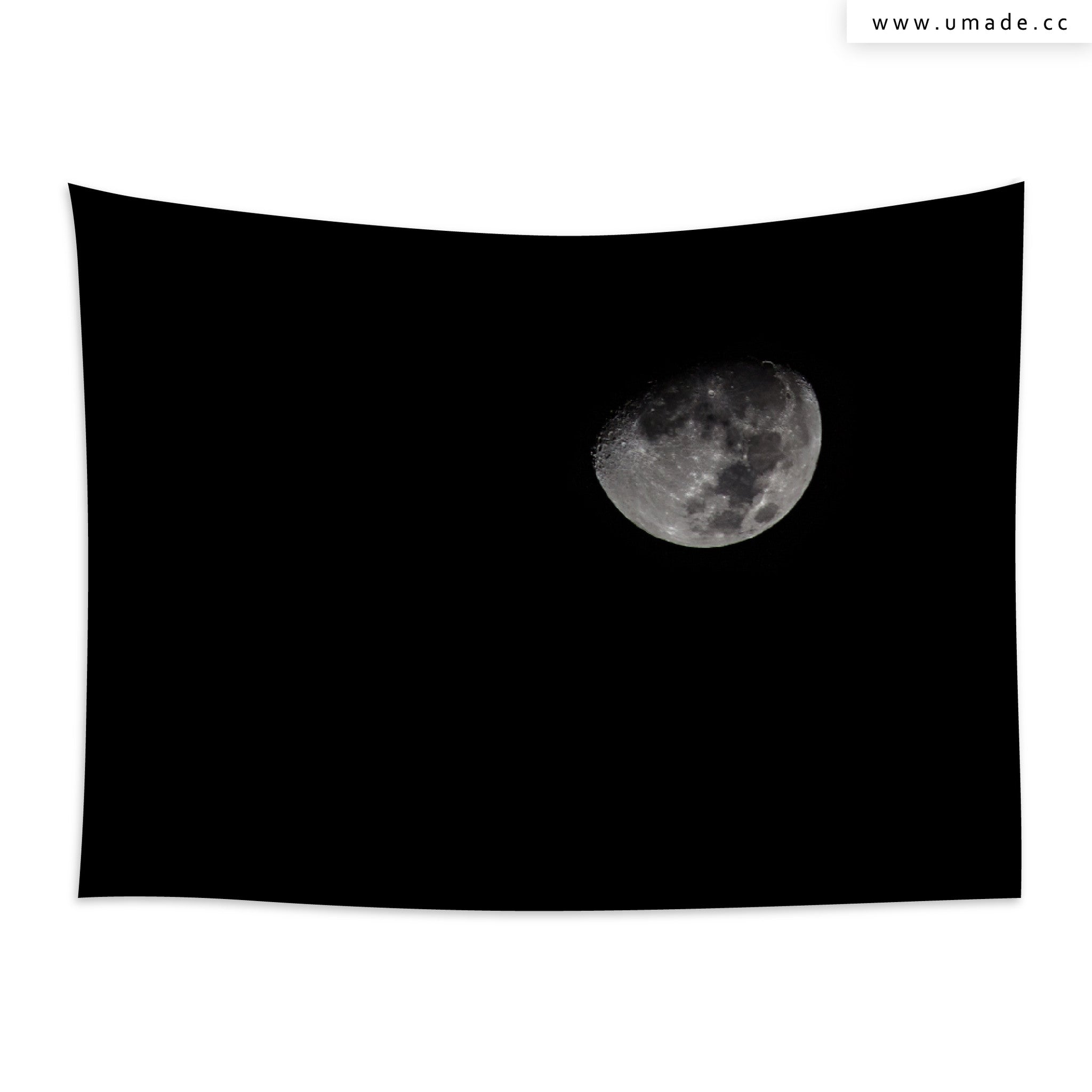UMade藝術家創作壁幔Wall Tapestry-Black Moon