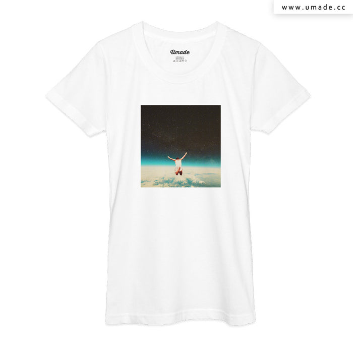 ★T-Shirt - Women 女短T★ Falling With A Hidden Smile - Frank Moth