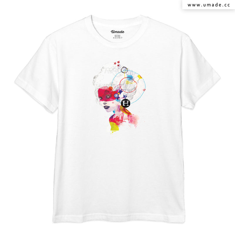 UMade Artist T-Shirt 藝術家創作T恤-Broken Hearted Heroes - Raphaël Vicenzi