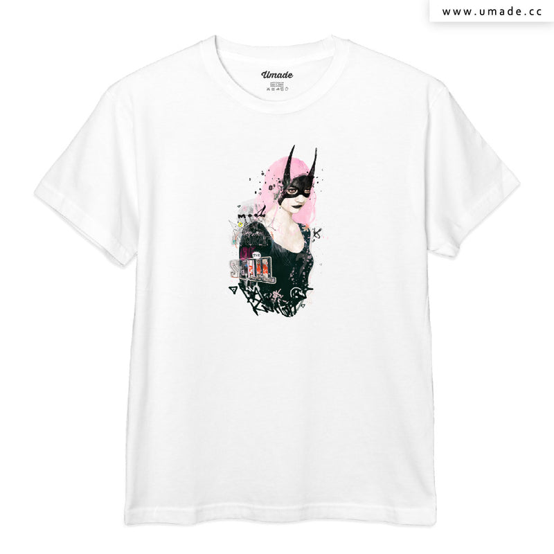 UMade Artist T-Shirt 藝術家創作T恤-Dark Knight of the Soul - Raphaël Vicenzi