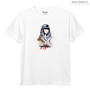 UMade Artist T-Shirt 藝術家創作T恤-Switch blade Soul - Raphaël Vicenzi