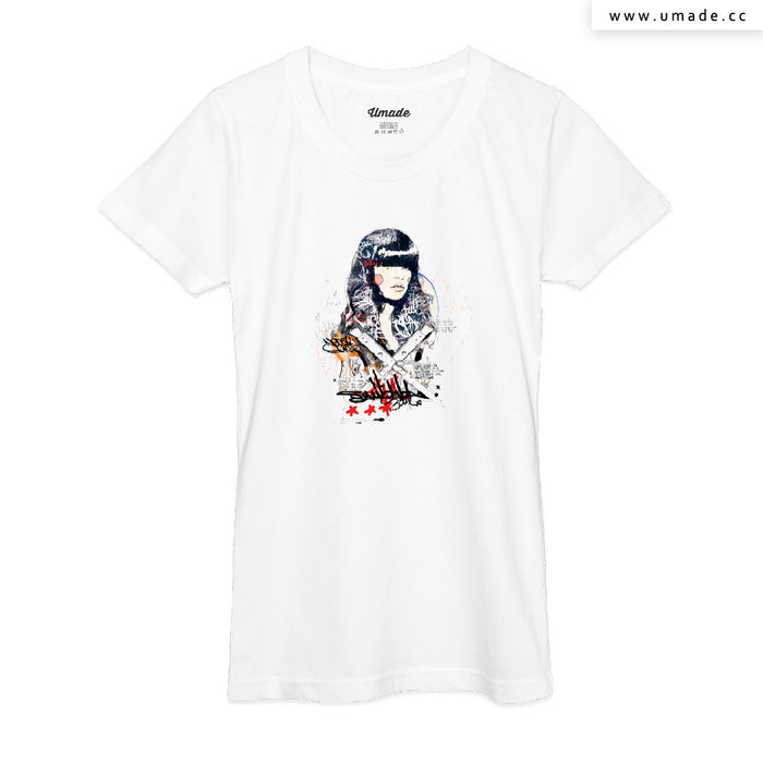 ★T-Shirt - Women 女短T★ Switch blade Soul  - Raphaël Vicenzi