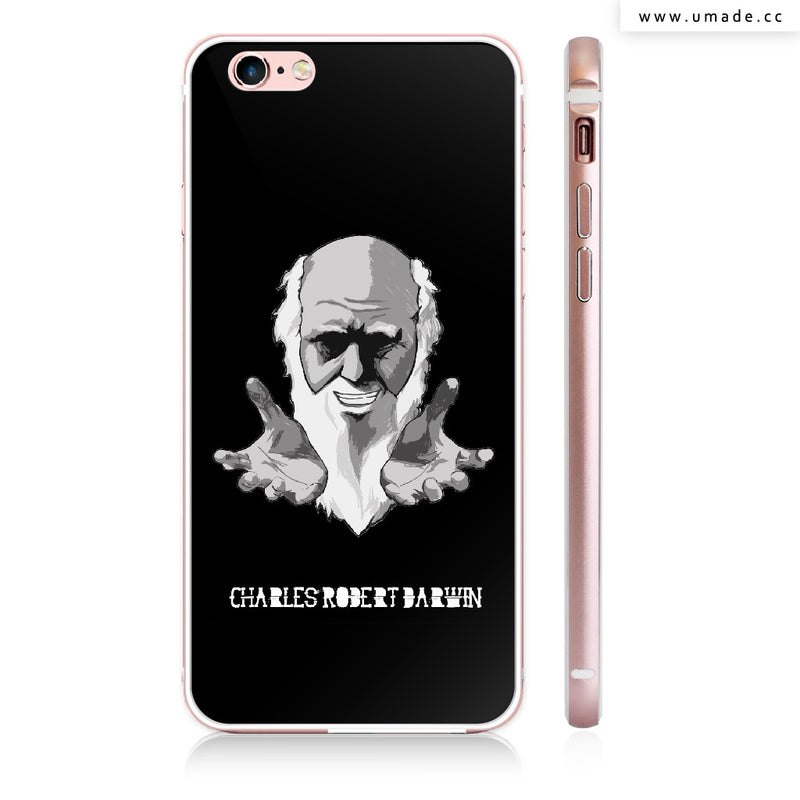 UMade iPhone case/iPhone手機殼-亮面硬殼-i6p/i6-玫瑰金色-H Stuff Room