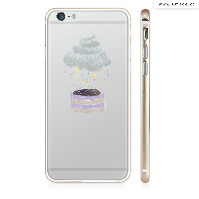 UMade iPhone case/iPhone手機殼-亮面硬殼-i6p/i6-金色-Albee