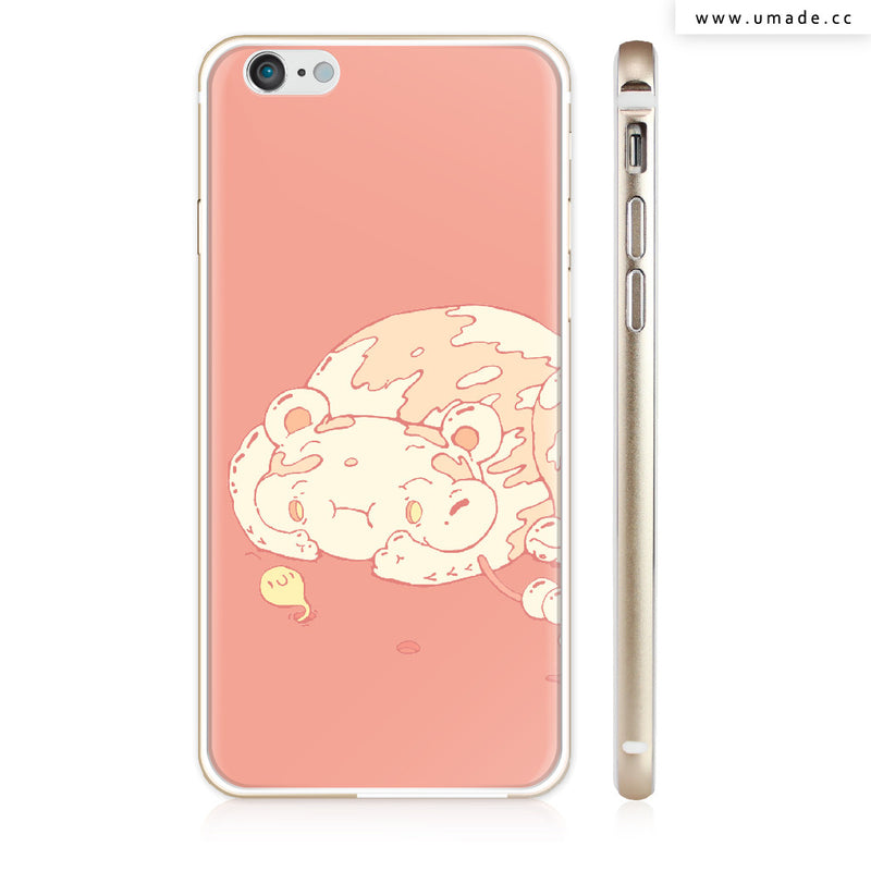 Made iPhone case/iPhone手機殼-亮面硬殼-i6p/i6-金色- Ishodnik candy - Alex
