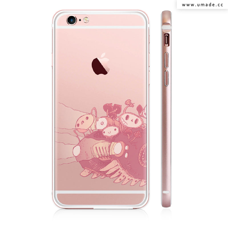 Made iPhone case/iPhone手機殼-亮面硬殼-i6p/i6-玫瑰金-Perfect journey - Alex