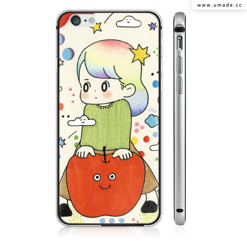 UMade iPhone case/iPhone手機殼-亮面硬殼-i6p/i6-太空灰色-AWAI
