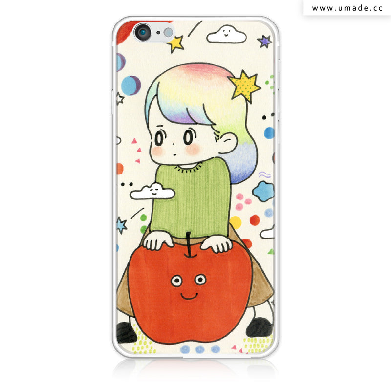 UMade iPhone case/iPhone手機殼-亮面硬殼-i6p/i6-金色-AWAI