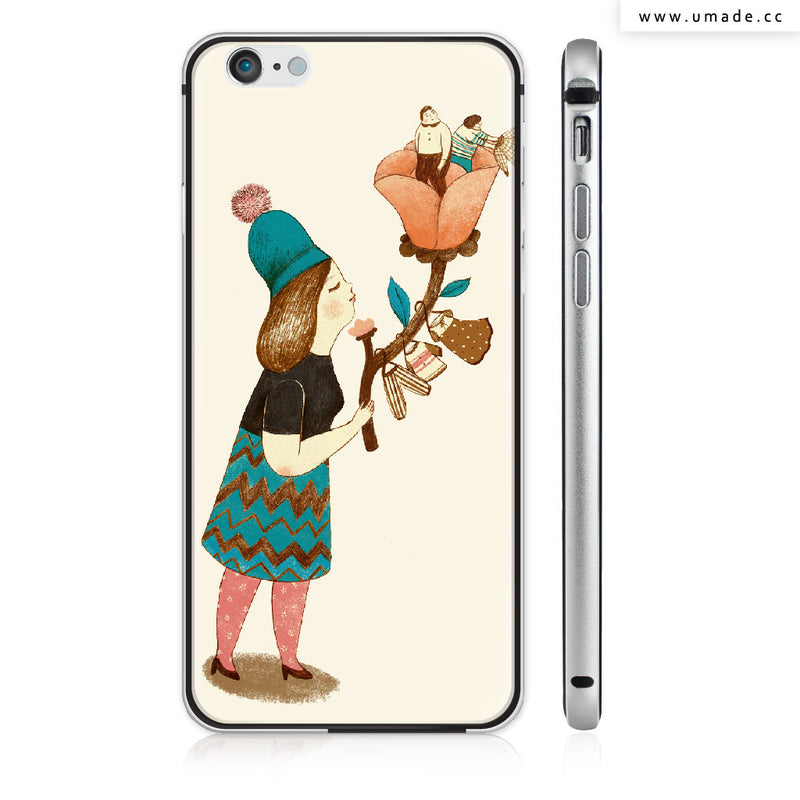 UMade iPhone case/iPhone手機殼-亮面硬殼-i6p/i6-太空灰色-Chichi Huang