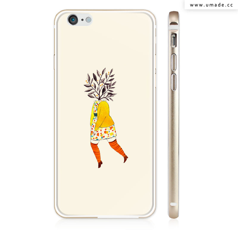 UMade iPhone case/iPhone手機殼-亮面硬殼-i6p/i6-金色-Chichi Huang
