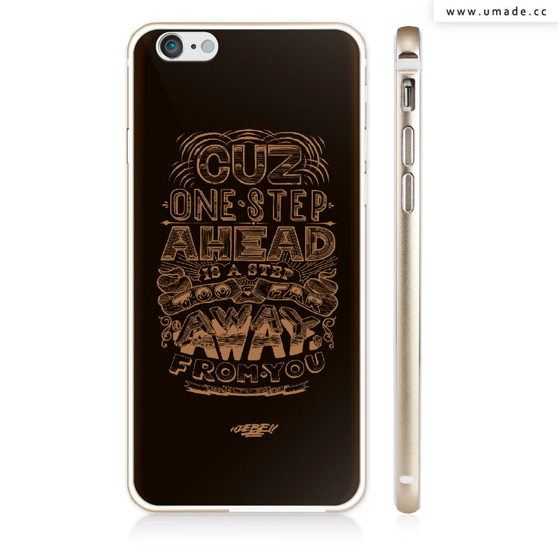 UMade iPhone case/iPhone手機殼-亮面硬殼-i6p/i6-金色-DEBE
