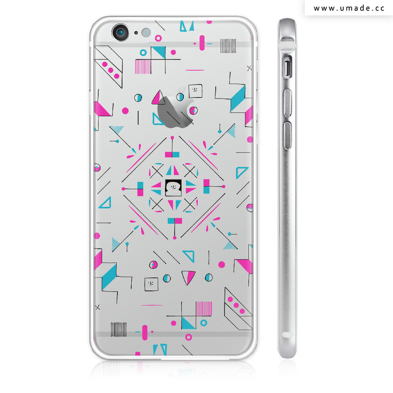 UMade iPhone case/iPhone手機殼-亮面硬殼-i6p/i6-銀色-Fiona Chien