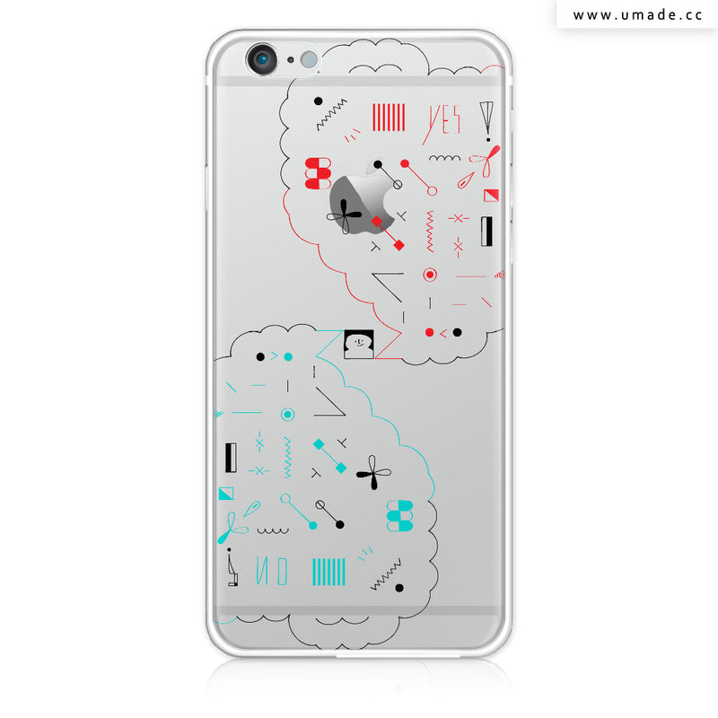 UMade iPhone case/iPhone手機殼-亮面硬殼-i6p/i6-金色-Fiona Chien