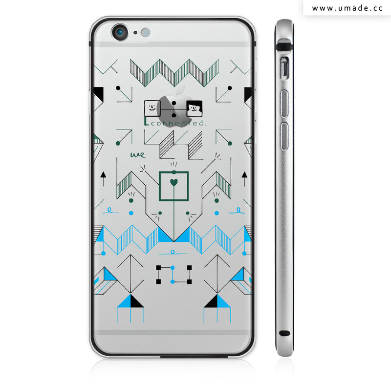 UMade iPhone case/iPhone手機殼-亮面硬殼-i6p/i6-太空灰色-Fiona Chien