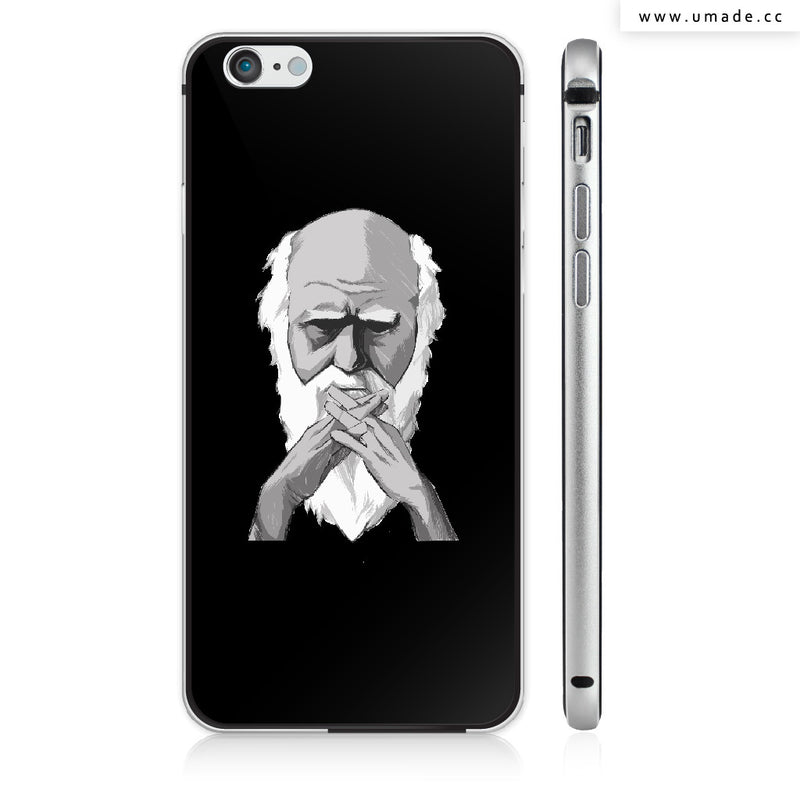 UMade iPhone case/iPhone手機殼-亮面硬殼-i6p/i6-太空灰色-H Stuff Room