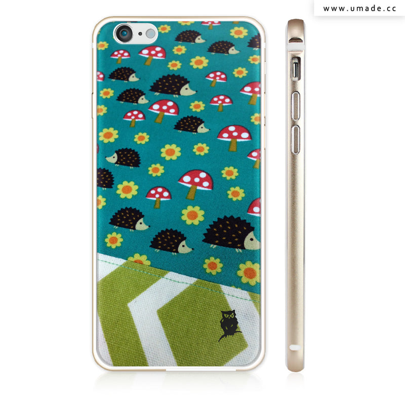 UMade iPhone case/iPhone手機殼-亮面硬殼-i6p/i6-金色-Jenn.Y