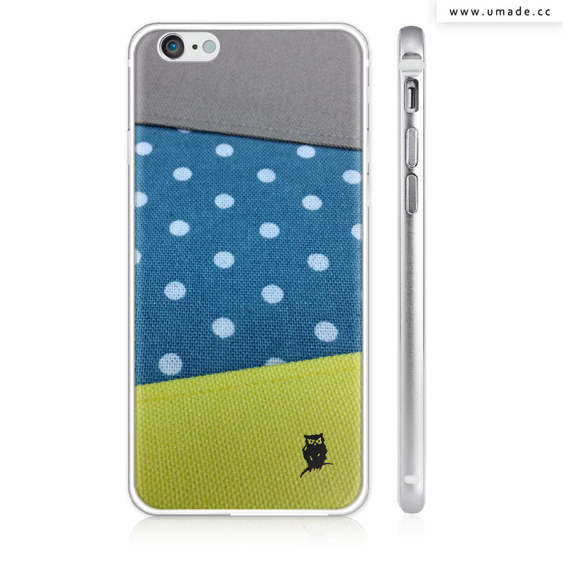 UMade iPhone case/iPhone手機殼-亮面硬殼-i6p/i6-銀色-Jenn.Y