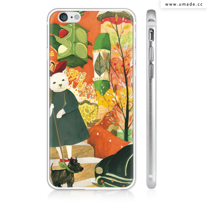 UMade iPhone case/iPhone手機殼-亮面硬殼-i6p/i6-銀色-南君Nan Jun