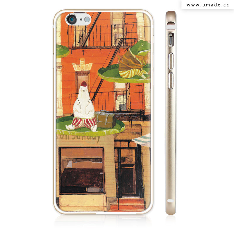 UMade iPhone case/iPhone手機殼-亮面硬殼-i6p/i6-金色-南君Nan Jun