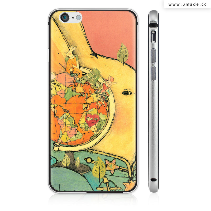 UMade iPhone case/iPhone手機殼-亮面硬殼-i6p/i6-太空灰色-南君Nan Jun