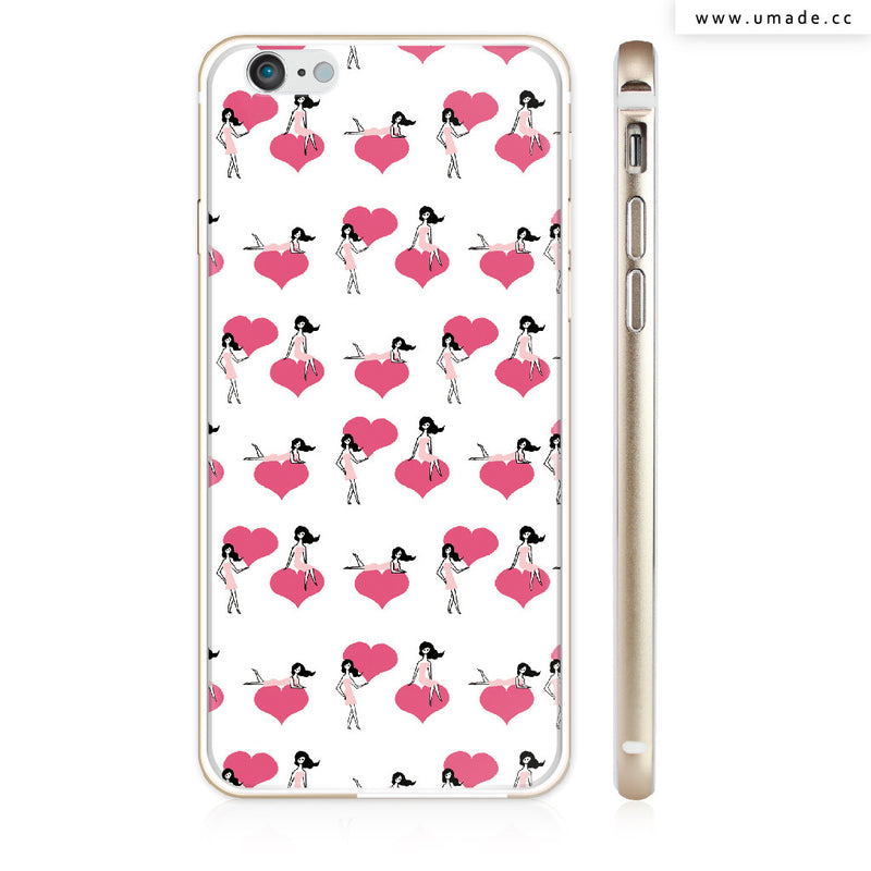 UMade iPhone case/iPhone手機殼-亮面硬殼-i6p/i6-金色-Naho Ogawa