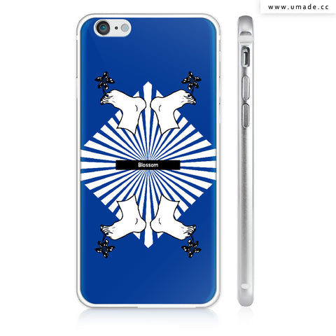 UMade iPhone case/iPhone手機殼-亮面硬殼-i6p/i6-銀色-Pidang Wu