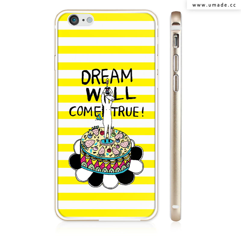 UMade iPhone case/iPhone手機殼-亮面硬殼-i6p/i6-金色-Ponga Huang