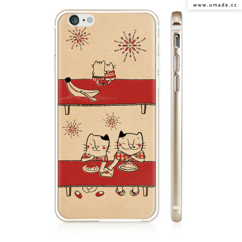 UMade iPhone case/iPhone手機殼-亮面硬殼-i6p/i6-金色-Pomme Go 蘋果
