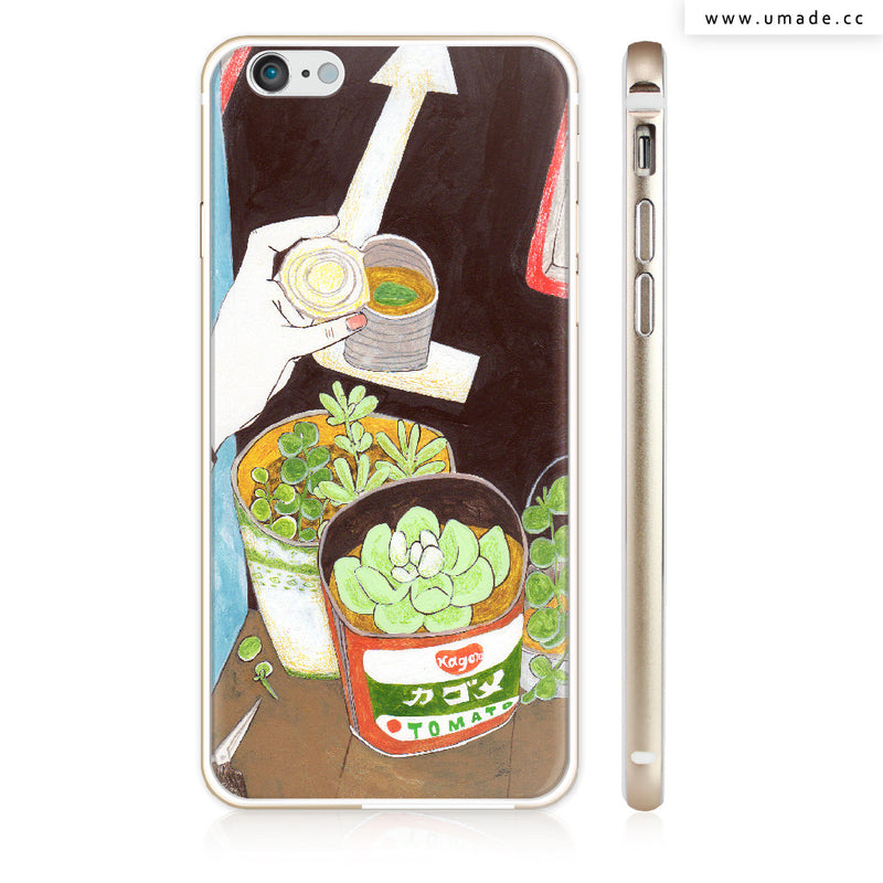 UMade iPhone case/iPhone手機殼-亮面硬殼-i6p/i6-金色-裴小馬Pony Pei