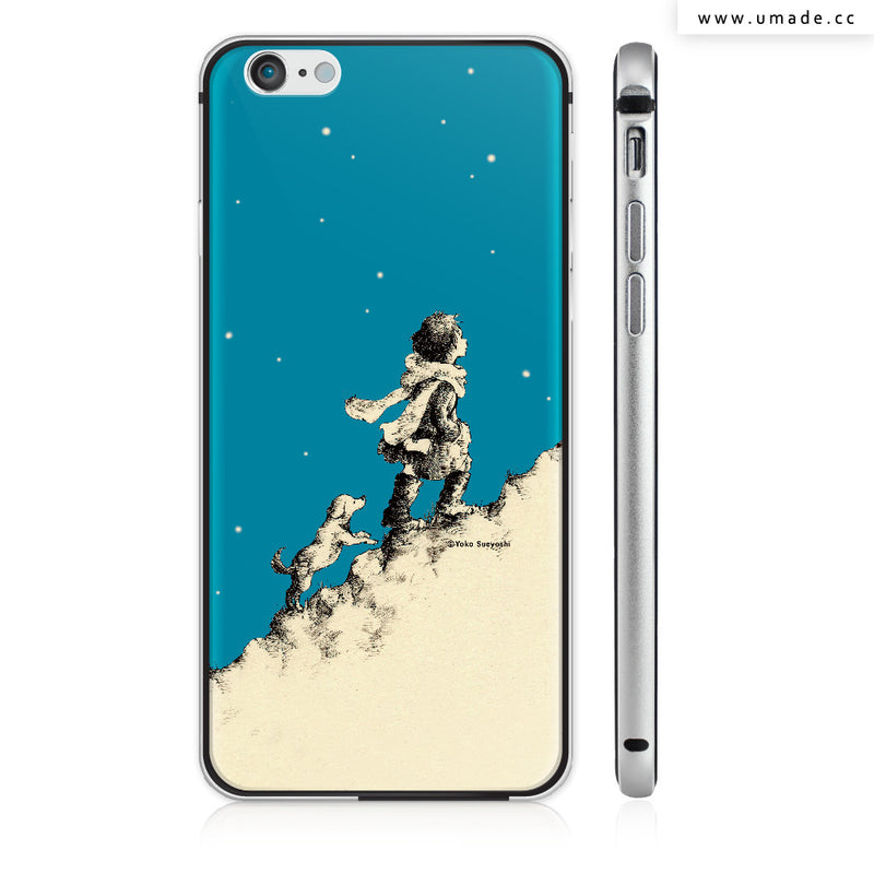 UMade iPhone case/iPhone手機殼-亮面硬殼-i6p/i6-太空灰色-Yoko Sueyoshi末吉陽子