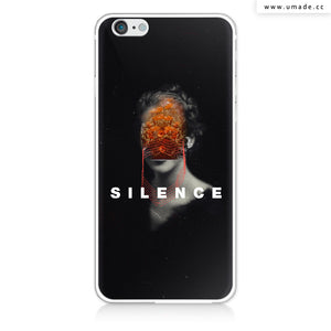 UMade iPhone case/iPhone手機殼-矽膠軟殼-鏡面硬殼-Silence-Frank Moth