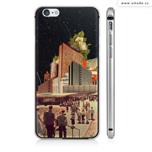 UMade iPhone case/iPhone手機殼-矽膠軟殼-鏡面硬殼-Software Road-Frank Moth