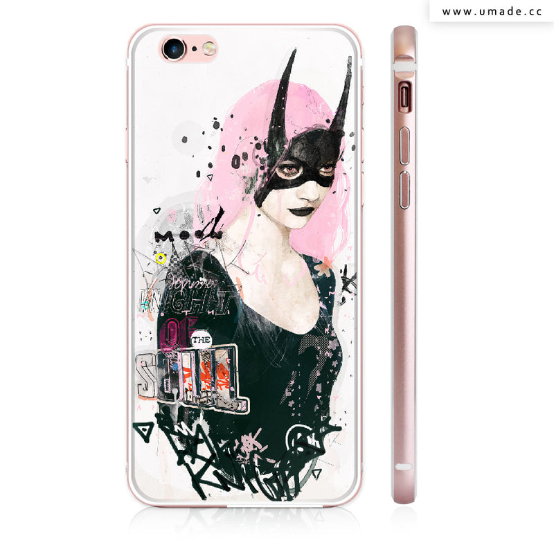 UMade iPhone case/iPhone手機殼-亮面硬殼-Dark Knight of the Soul - Raphaël Vicenzi