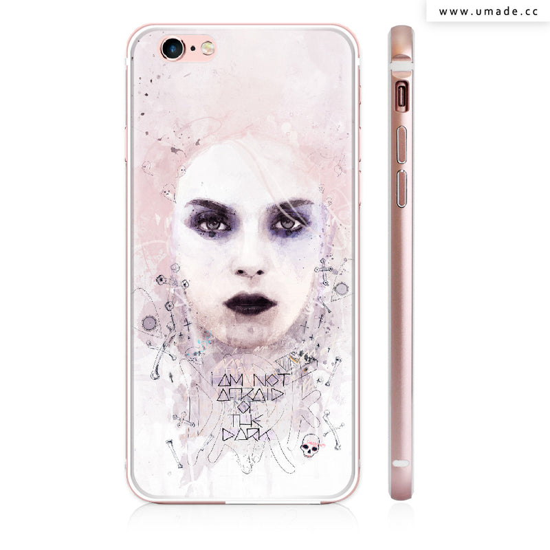 UMade iPhone case/iPhone手機殼-亮面硬殼-I am Not Afraid of The Dark - Raphaël Vicenzi