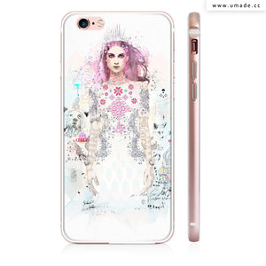 UMade iPhone case/iPhone手機殼-亮面硬殼-Ice Princess - Raphaël Vicenzi