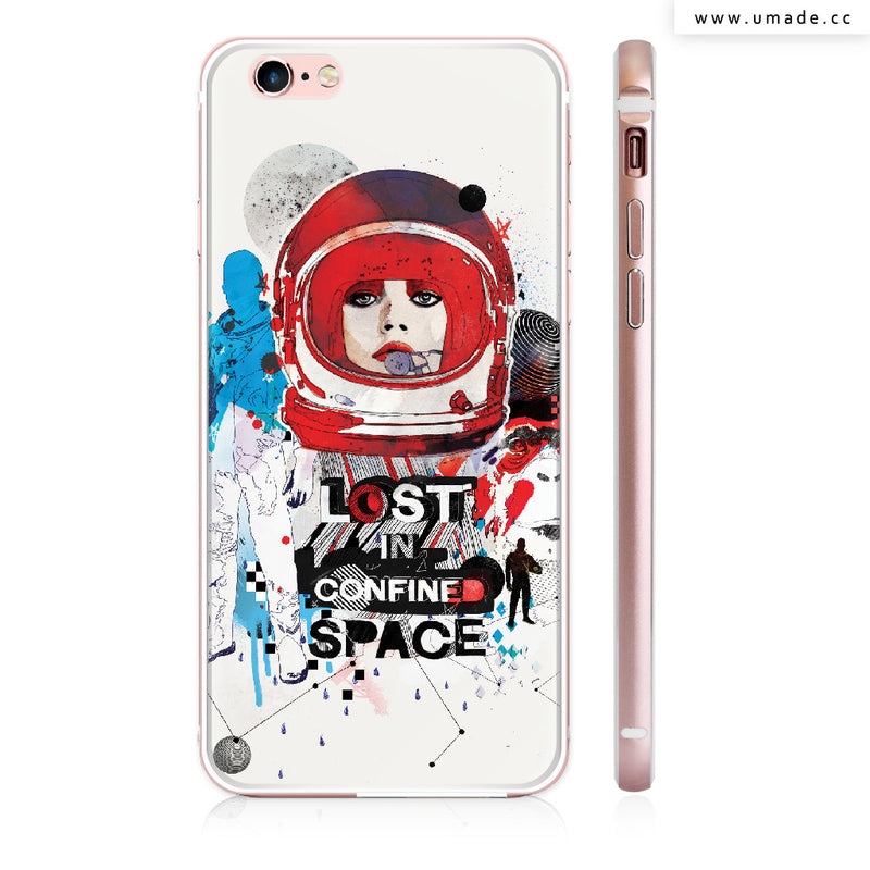 UMade iPhone case/iPhone手機殼-亮面硬殼-Lost in Confined Space - Raphaël Vicenzi