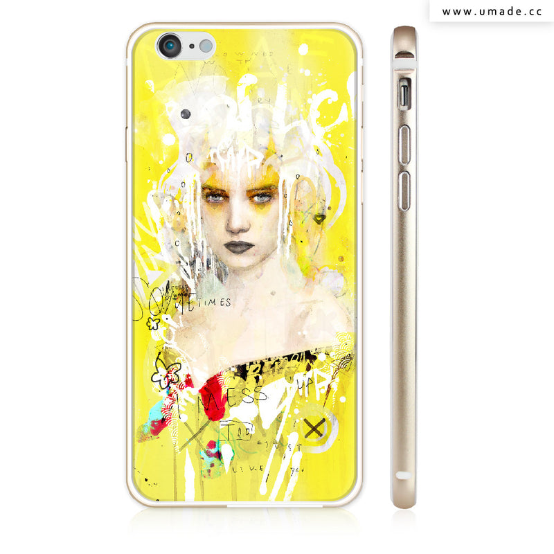UMade iPhone case/iPhone手機殼-亮面硬殼-Some times I Mess Up Too - Raphaël Vicenzi