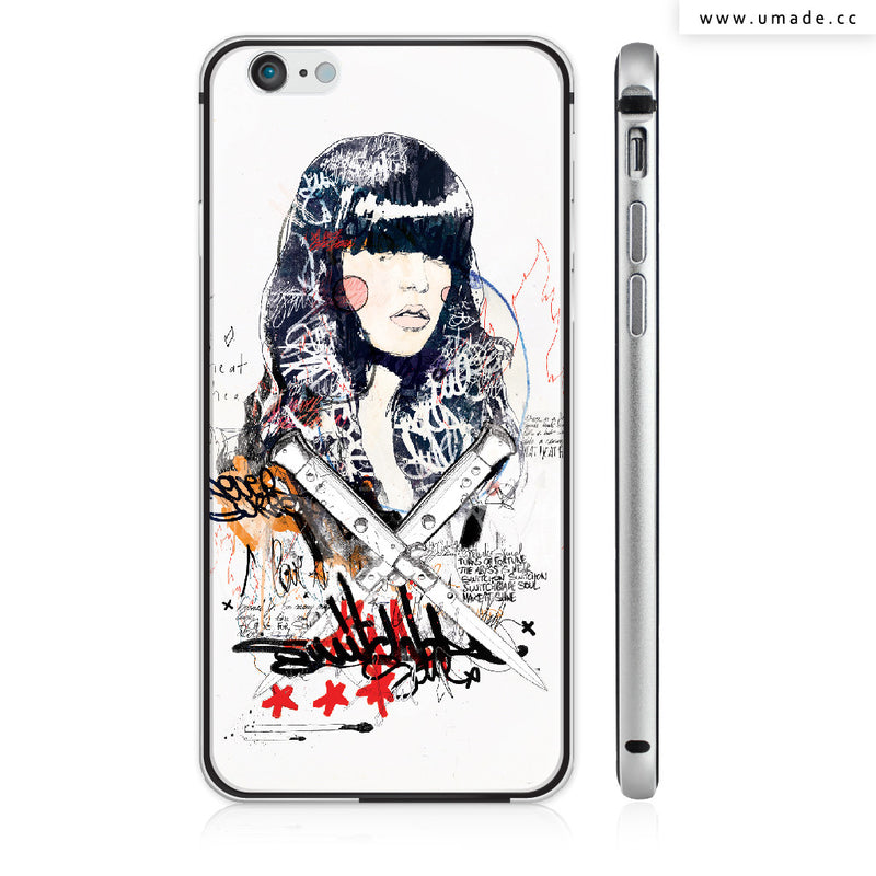 UMade iPhone case/iPhone手機殼-亮面硬殼-Switch blade Soul - Raphaël Vicenzi