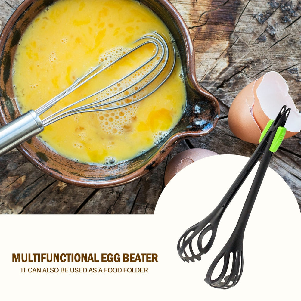 Durable Baking Egg Beater Food Clip Hand Mixer Multifunctional Tool Kitchen Gadget for Household Eggs Making Ornaments