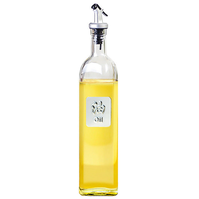 Glass Oil Bottle Kitchen Tools Accessories