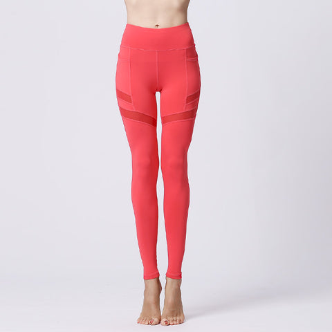 Fitness Pants Yoga Leggings Stretch Tights Sports Trousers