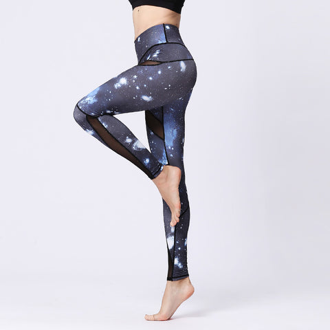 Printed Tight Yoga Pants Fitness Sports Outdoor Leggings