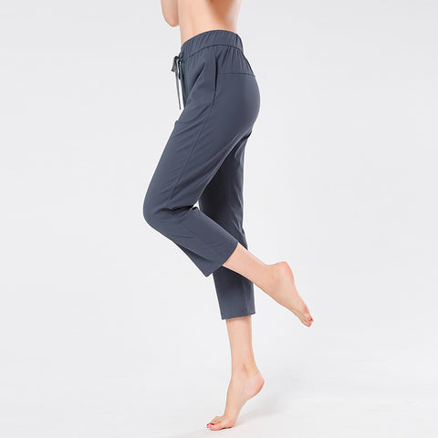 Yoga Leisure Running Fitness Pants Loose Sweatpants