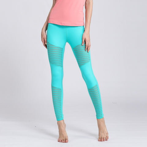 Skinny Yoga Pants Solid Color Sexy Sports Fitness Trousers