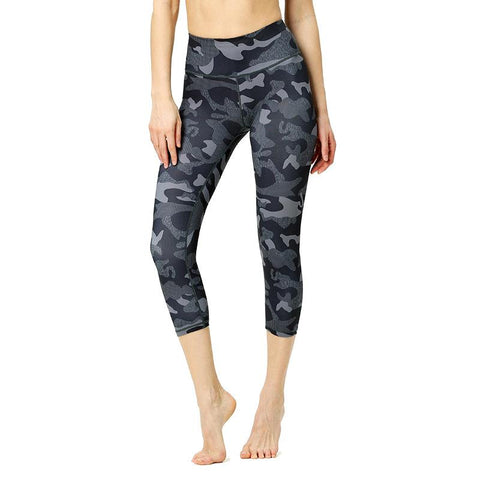 High Elastic And Breathable Exercise Printed Pants