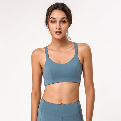 New style yoga sports bra shockproof sports fitness bra
