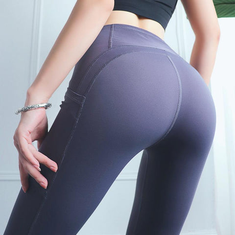 Double-sided Sports Tight Yoga Pants