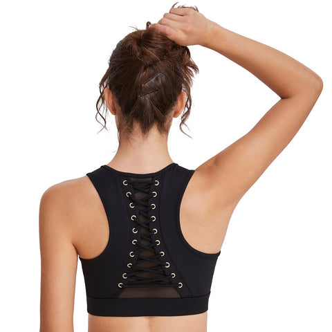 Running Fitness Beauty Back Sports Bra